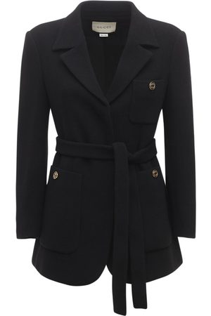 Gucci Wool Sablé Jacket