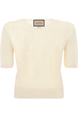 Gucci Women Tops - Wool Knit Crewneck Top