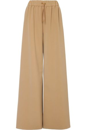 Max Mara Stretch Nylon Wide Leg Pants