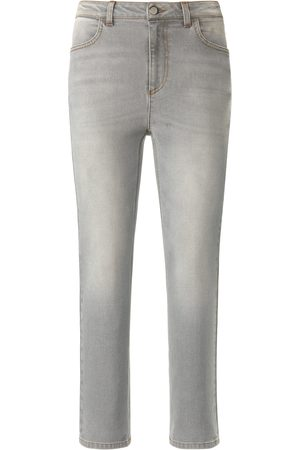 DAY.LIKE Ankle-length Slim Fit jeans in 4-pocket style size: 10s