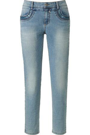 Glücksmoment Ankle-length jeans Design Grace denim size: 10