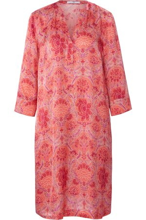Peter Hahn Dress 3/4-length sleeves bright size: 12