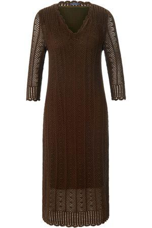 Mybc Knitted dress 3/4-length sleeves size: 10