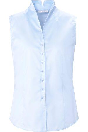 ETERNA Sleeveless blouse in 100% cotton size: 10