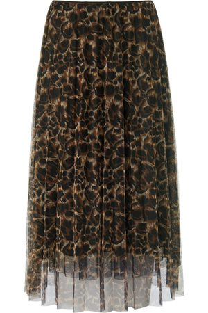 Margittes Mesh skirt animal print size: 10