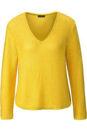 Basler Long-sleeved jumper V-shaped neckline size: 10