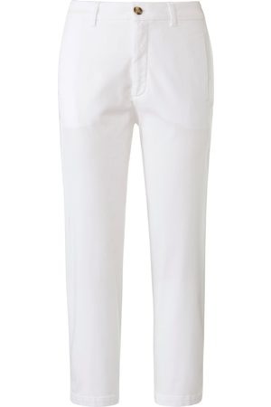 DAY.LIKE Slim Fit 7/8 trousers in chino style size: 10s