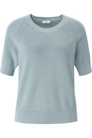 Riani Women Jumpers - Round neck jumper in 100% cotton size: 10