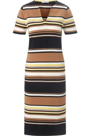 Peter Hahn Short-sleeved dress in 100% cotton size: 10