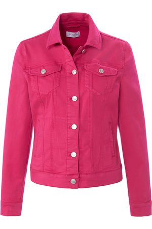 Looxent Denim jacket in shorter length bright size: 10