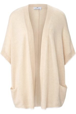 Peter Hahn Open-front style cardigan in 100% cashmere size: 10