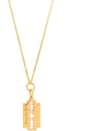 True Rocks Mini razor pendant necklace
