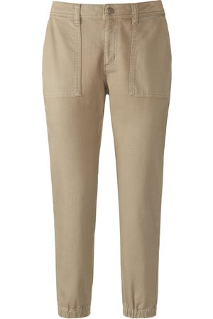 Mybc 7/8-length trousers in stretch cotton size: 20