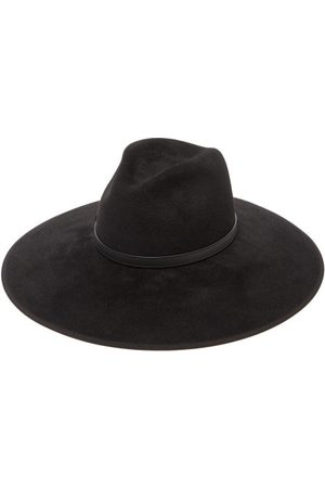 Gucci Horsebit Felt Fedora Hat - Womens