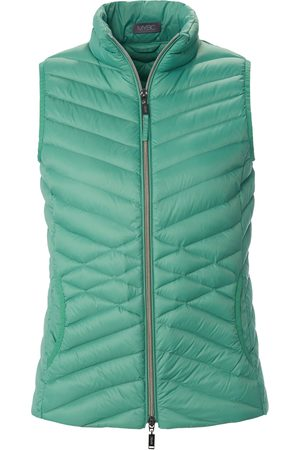 Mybc Down gilet stand-­up collar size: 10