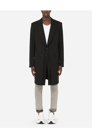 Dolce & Gabbana Men Coats - Coats and Blazers - STRETCH WOOL COAT male 48