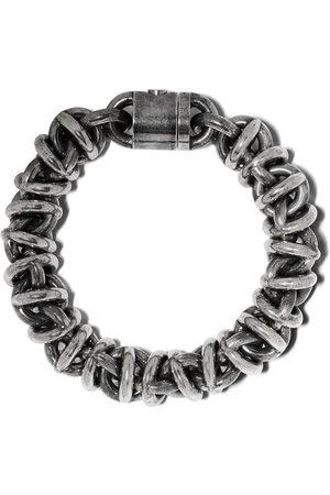 Le Gramme Bracelets - 191g vintage Entrelacs bracelet