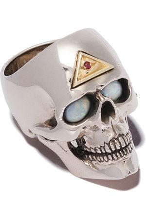 The Great Frog Men Rings - Evil-eye skull ring