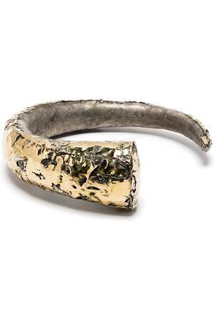Parts of Four Horn open bracelet