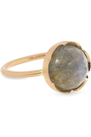 Irene Neuwirth 18kt rose gold medium Classic labradorite ring