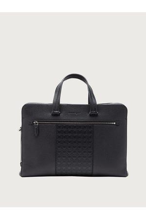 Salvatore Ferragamo Men Gancini business bag