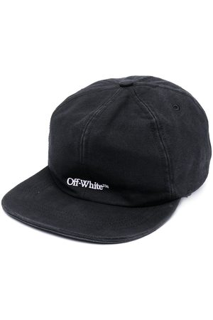 OFF-WHITE Men Hats - Embroidered-logo baseball cap