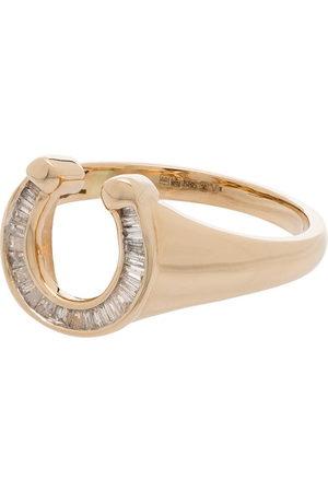 Adina Reyter 14kt yellow diamond stackable ring