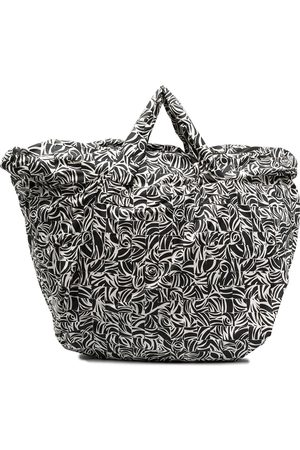 10 CORSO COMO Large mosaic-print tote bag