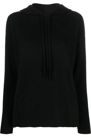 Chinti And Parker Ribbed-trim cashmere hoodie
