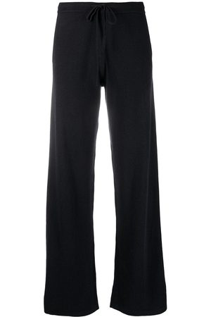 Chinti And Parker Wide-leg cashmere track pants