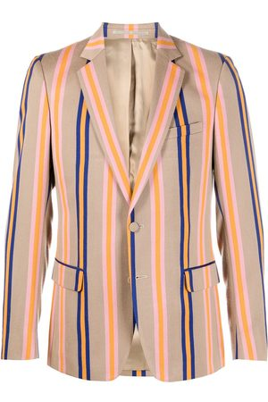WALTER VAN BEIRENDONCK Sharp striped blazer