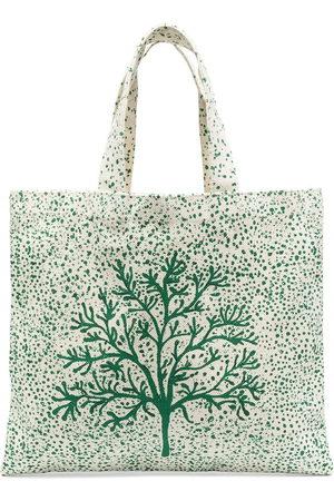 10 CORSO COMO Tree-print tote bag - Neutrals