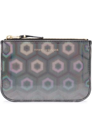 Comme des Garçons Geometric zipped wallet