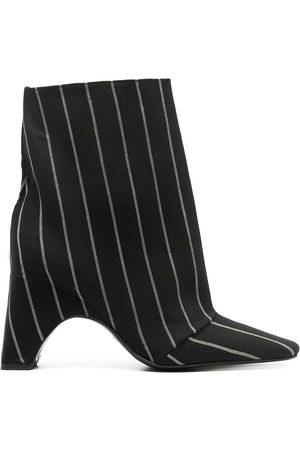 COPERNI Bridge striped ankle boots