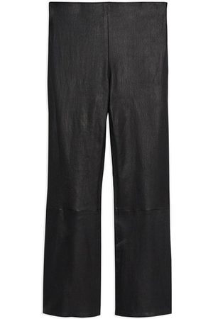 THEORY Pull-on Kick Pant In Leather