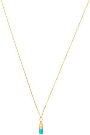 TRUE ROCKS Women Necklaces - Mini pill pendant necklace