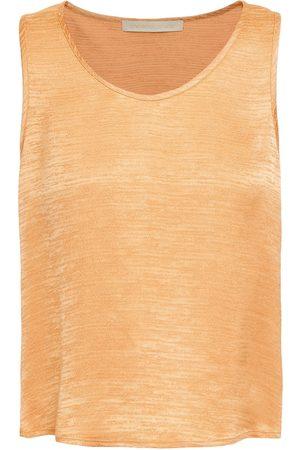 Vanessa Bruno Women Tank Tops - Woman Sleeveless Top Pastel Size 34