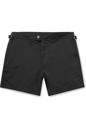 Tom Ford Men Swim Shorts - Slim-Fit Mid-Length Swim Shorts