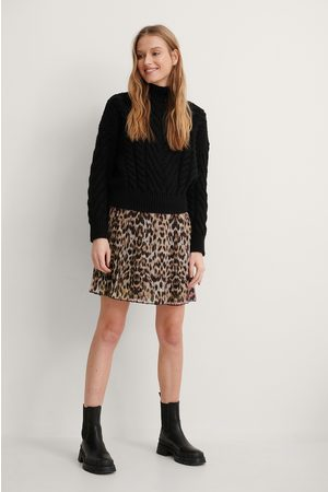 NA-KD Mini Pleated Skirt - Multicolor