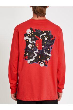 Volcom Men's Freak City T-shirt - Carmine