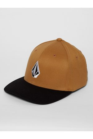 Volcom Men's Full Stone Xfit Cap - Golden
