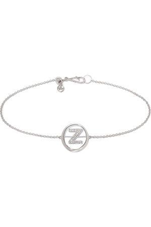 Annoushka 18kt white gold diamond Initial Z bracelet