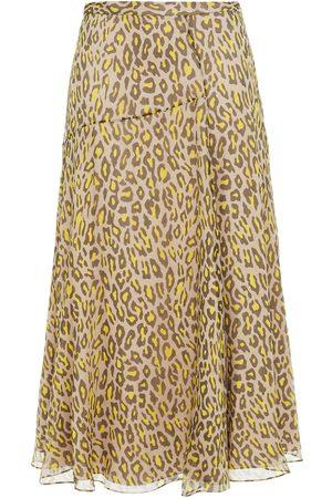 THEORY Woman Midi Skirts Taupe Size 2