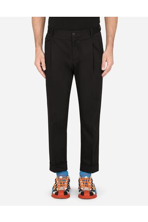 Dolce & Gabbana Trousers and Shorts - STRETCH COTTON PANTS male 44