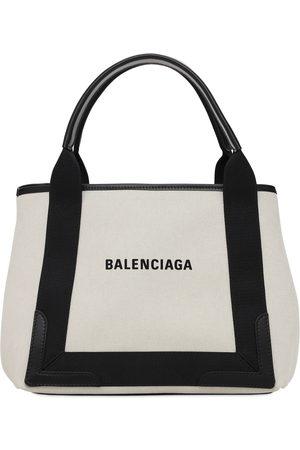 Balenciaga Sm Navy Canvas Bag