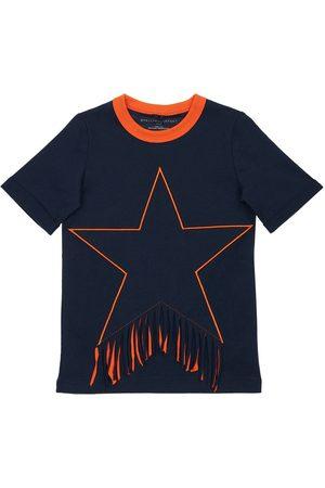 Stella McCartney Organic Cotton Dress W/ Star Patch