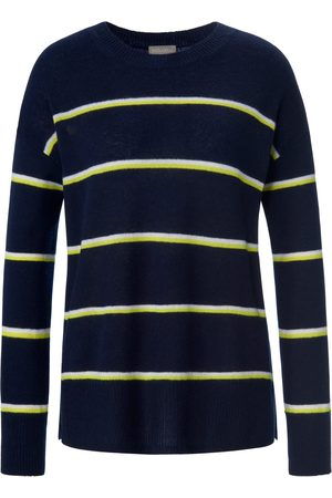 include Women Jumpers - Round neck jumper made of 100% premium cashmere size: 10