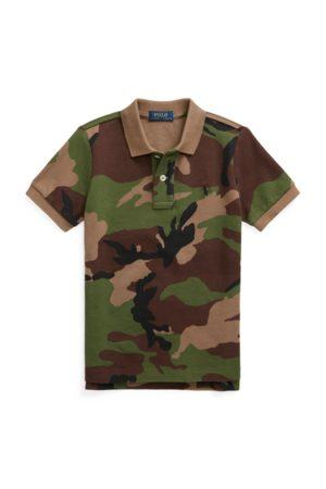 Ralph Lauren Camo Cotton Mesh Polo Shirt