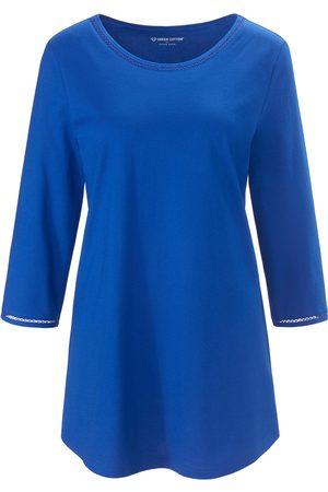 Green Cotton Women Tops - Round neck top in 100% cotton size: 14