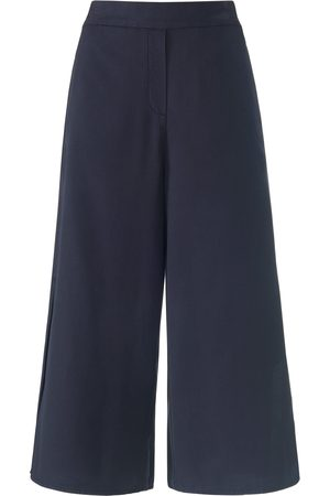Peter Hahn 7/8-length trousers wide leg size: 10s